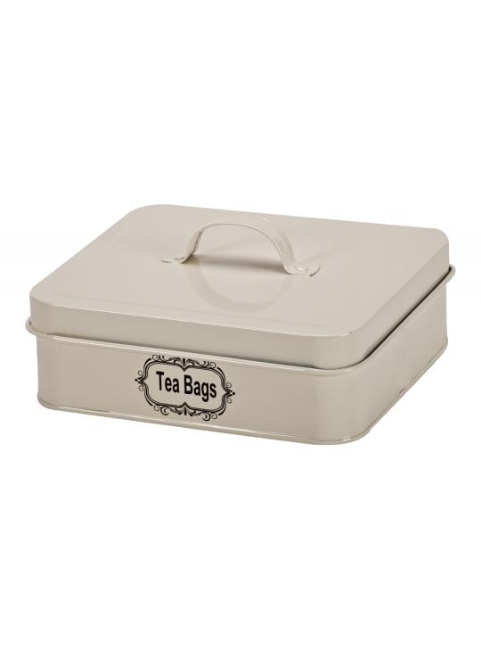 صندوق تخزين اكياس الشاي