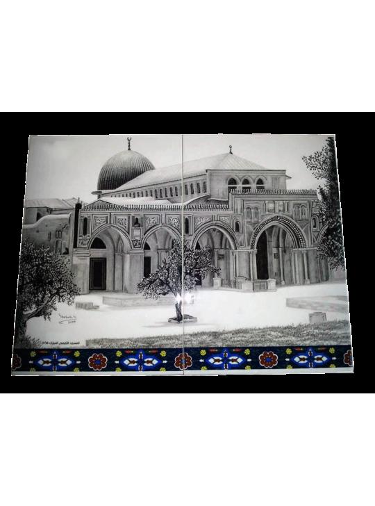 سيراميك المسجد الاقصى